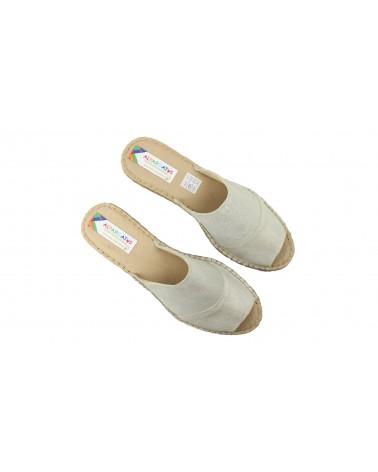 Valenciana Navy Blue Smooth Medium Heel