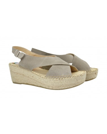 Crab Shoes Sand Colour Leather