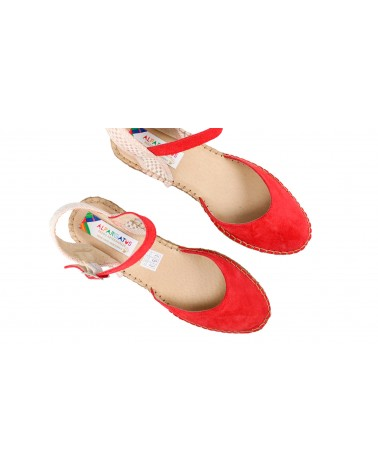 2 x Ankle Socks Moons Red