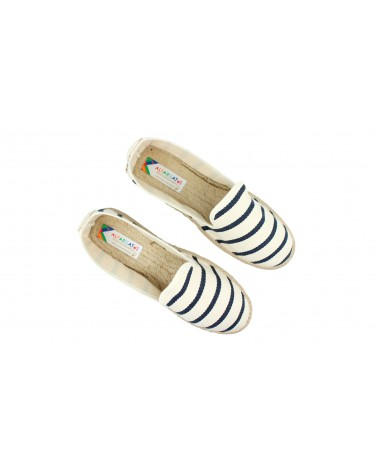 2 x Ankle Socks Multi Stripes