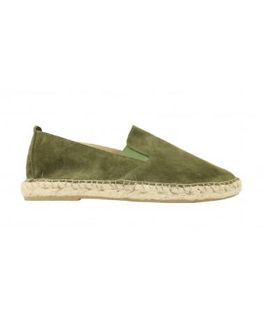 Camping Elastic Suede Leather Black