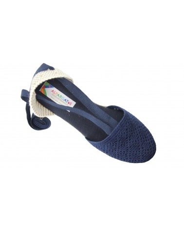Alpargata Suede Leather Kaki Crab